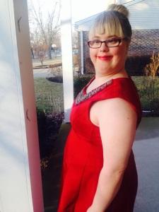 My sister April, 2015